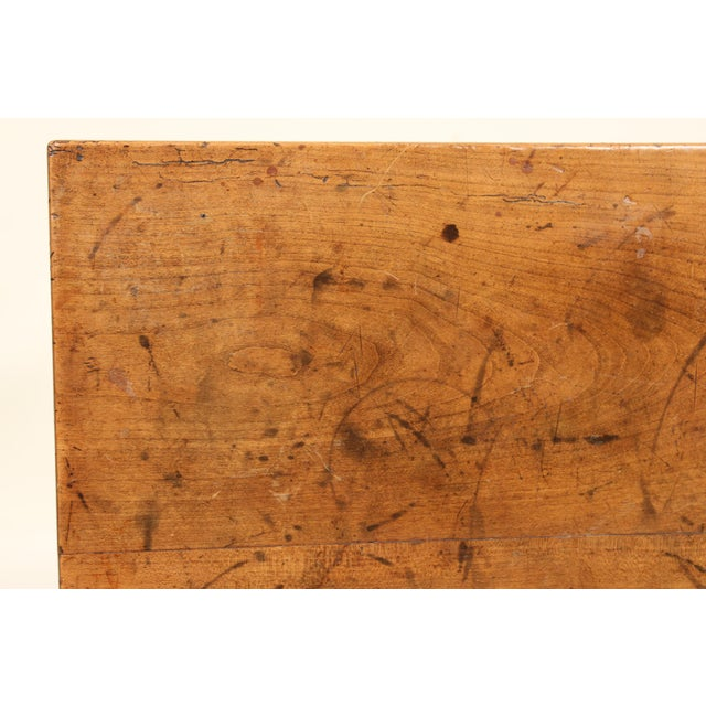 19th Century Neoclassical Fruit Wood Occasional Table For Sale - Image 10 of 12