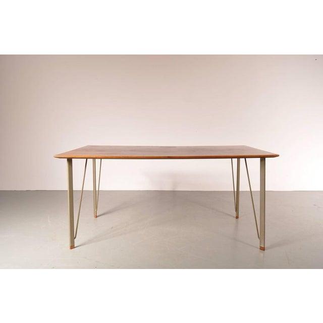 Dining Table by Arne Jacobsen for Fritz Hansen, Denmark, circa 1955 - Image 3 of 10