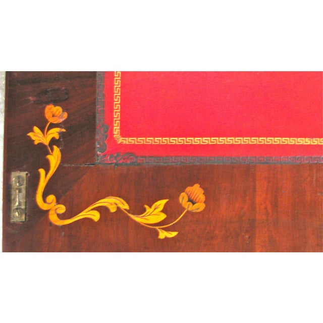 Dutch Marquetry Cabinet or Fall Front Desk - Image 5 of 7