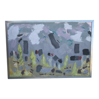 Contemporary Oil Painting With Frame For Sale