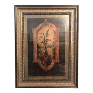 Vintage 2001 Bobby Sikes Safari Vista Framed Art For Sale