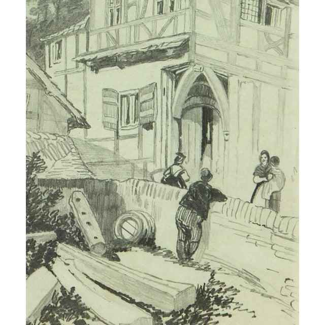 Drawing Town, Circa 1880 - Image 2 of 3