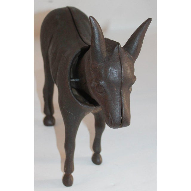 Country 19Thc Donkey Door Stop With Nodder Head For Sale - Image 3 of 10