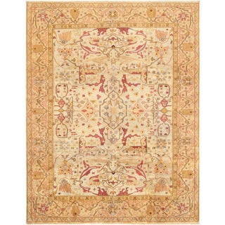 Pasargad Home Oushak Lamb's Wool Area Rug- 14′5″ × 19′7″ For Sale