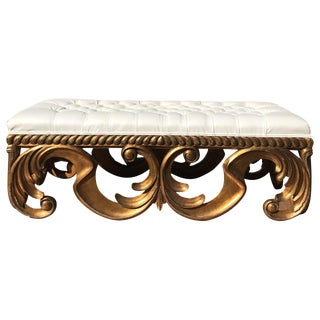 Christopher Guy Giltwood Bench For Sale