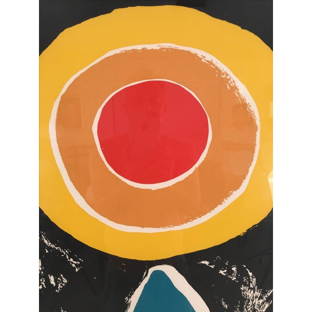 Vintage Abstract Lithograph - Image 3 of 6