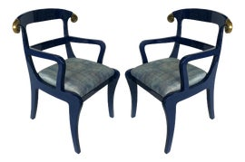 Image of Lacquer Dining Chairs