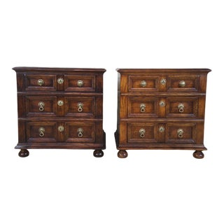 1979 Henredon Nightstands End Tables Dressers - a Pair For Sale