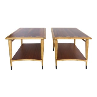 Mid-Century Modern Lane Acclaim Collection Side Tables- a Pair