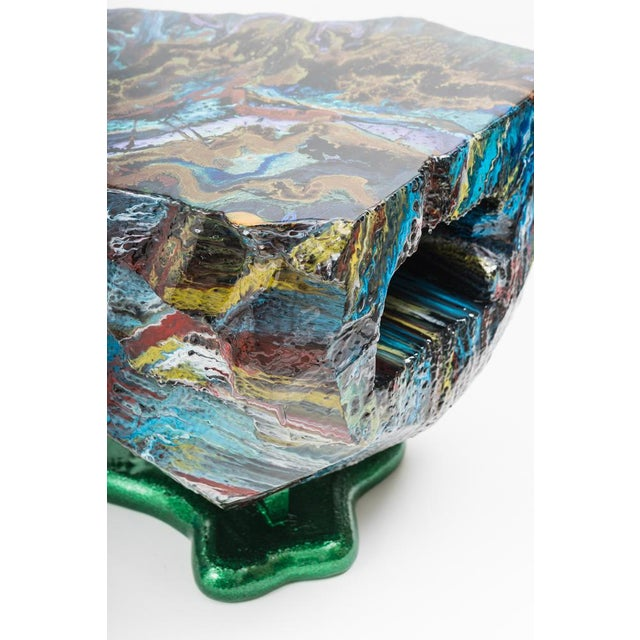 Flow Series Hunk Table, Usa For Sale - Image 11 of 13