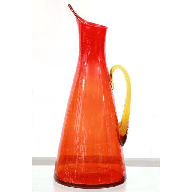 Mid-Century Modern Remarkable Blenko Glass Ensemble For Sale - Image 3 of 7