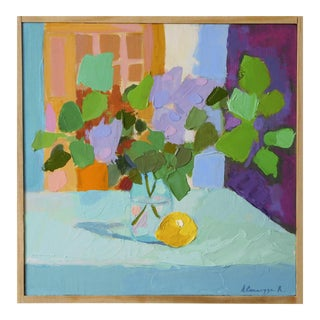 Lilac with Lemon by Anne Carrozza Remick