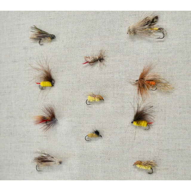 American Framed Collection of Antique Fishing Lures For Sale - Image 3 of 4