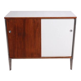 Mid-Century Modern Cabinet Walnut Plywood For Sale