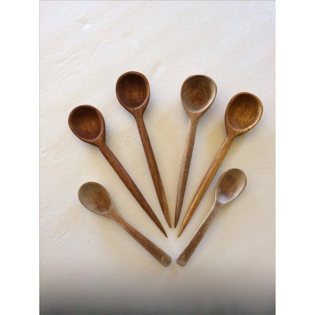 Vintage Wooden Spoon Collection - Set of 6 - Image 2 of 9