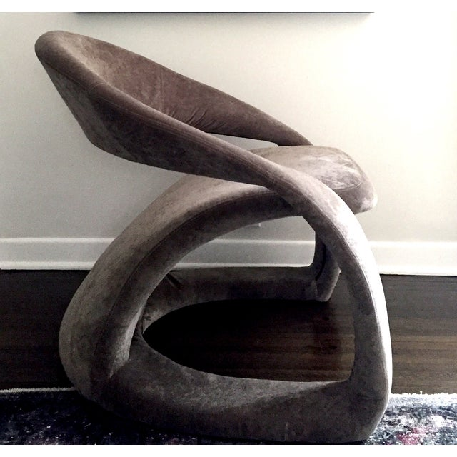 1970's Maison Rougier Lounge Chair - Image 2 of 4