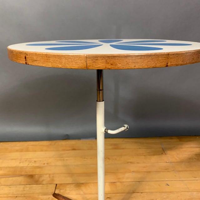 1960s Howard McNab & Don Savage, Lotus Side Table, Usa 1961 For Sale - Image 5 of 10