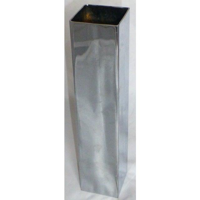 Mid-Century Chrome Bud Vase - Image 3 of 6