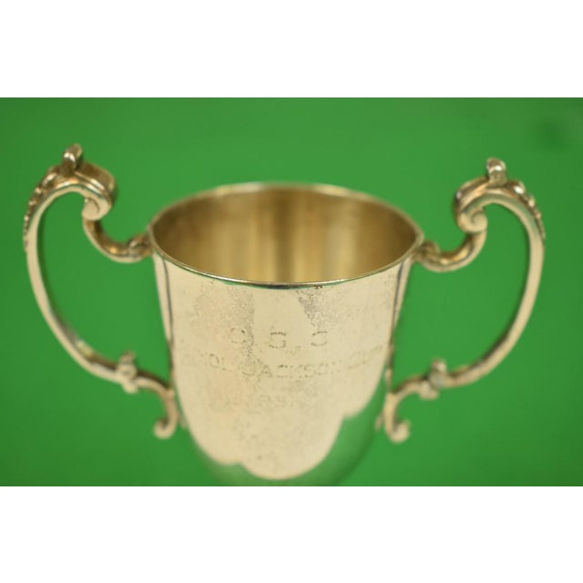 This is a vintage Mappin & Webb trophy from 1961. London & Sheffield