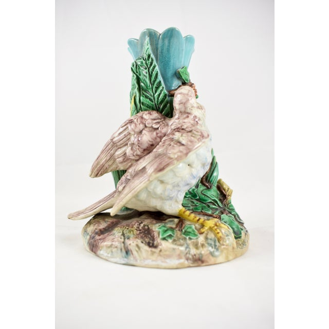19th Century Royal Worcester Song Bird Posey Vase - Image 5 of 10
