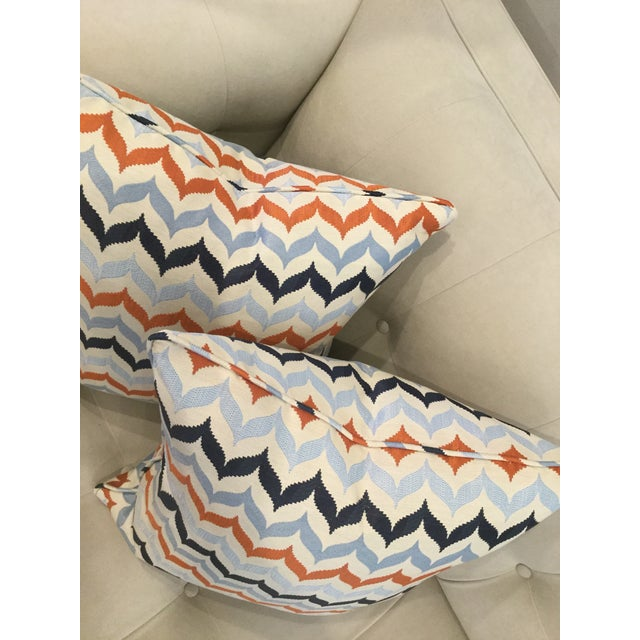 Kravet Kravet Andora Castaway Pillows - A Pair For Sale - Image 4 of 7