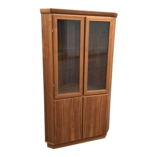 Danish Corner Cabinet by Skovby For Sale