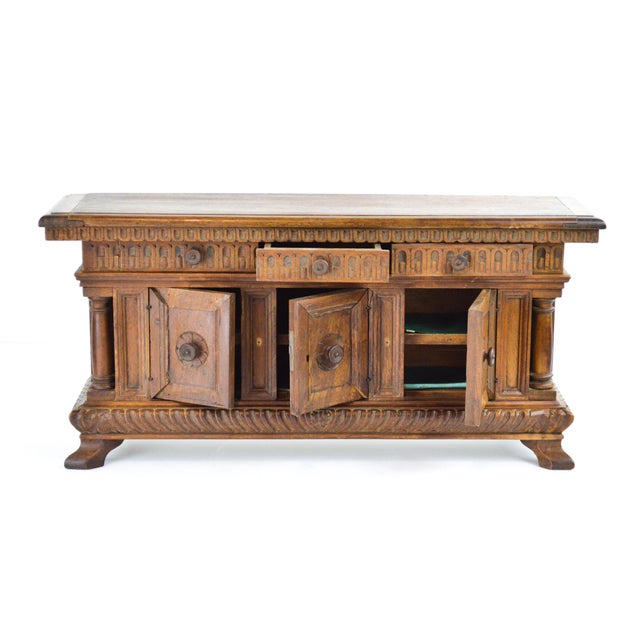 19th Century Antique Miniature Sideboard - Image 3 of 10