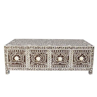 Inlay With Drawers Coffee Table