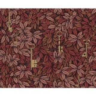 Cole & Son Chiavi Segrete Wallpaper Roll - Autumnal Leaves For Sale