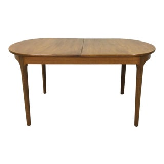 Nathan of Britain Danish Modern Teak Butterfly Table For Sale