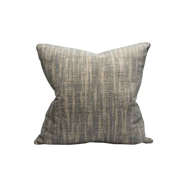 Traditional Gallium Pillow, Silver Screen For Sale - Image 3 of 3