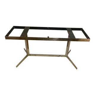 Mid-Century Chrome Plate Table Base