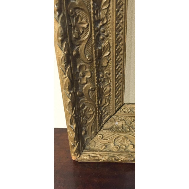 Large Antique Gilt Wood Frame - Image 6 of 8