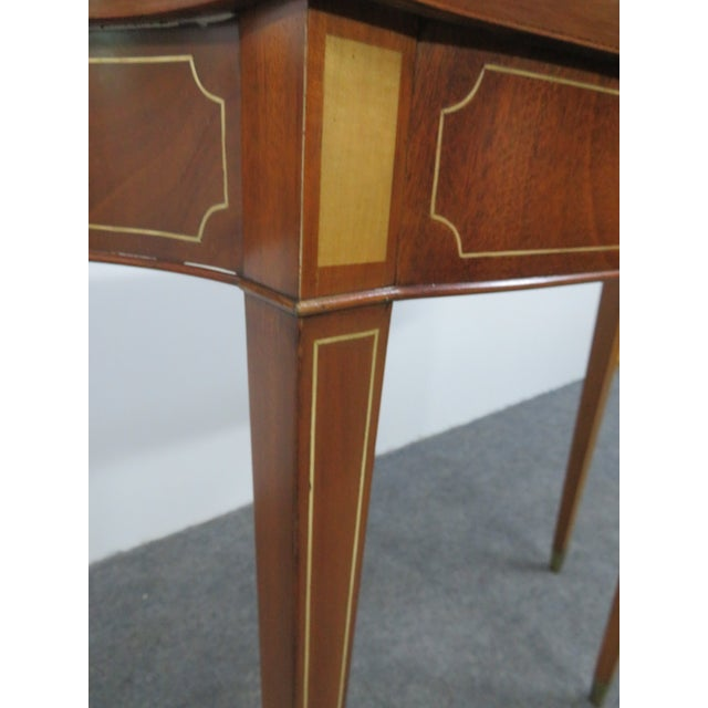 Hepplewhite Style Console Table For Sale In Philadelphia - Image 6 of 7