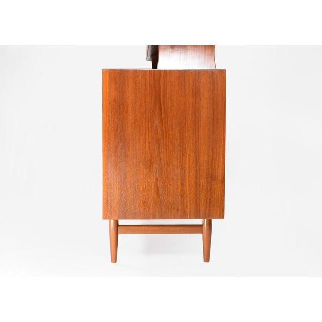 1950s 1950s Danish Modern Arne Vodder for Sibast Teak Sideboard Hutch For Sale - Image 5 of 13