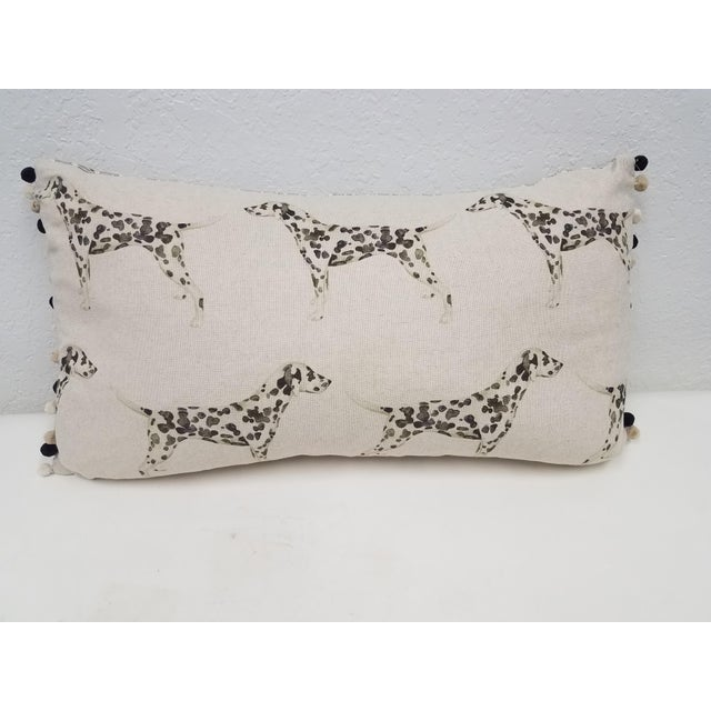 Dalmations Bolster Pillow For Sale - Image 9 of 9