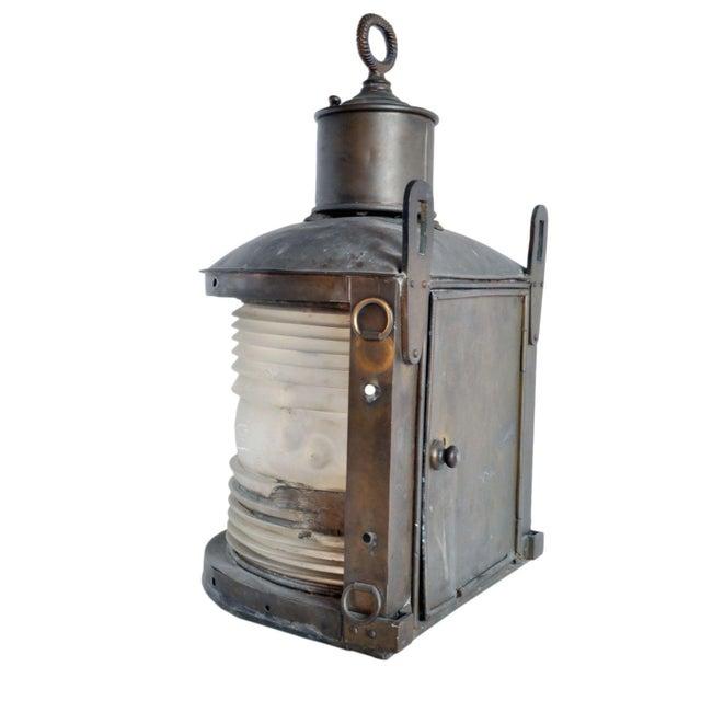 Nautical Vintage Marine Ship Light For Sale - Image 3 of 6