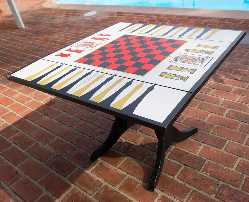 Vintage Game Table   Image 2 Of 11