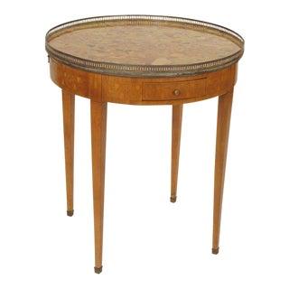 1920s Louis XVI Bouillotte Table For Sale