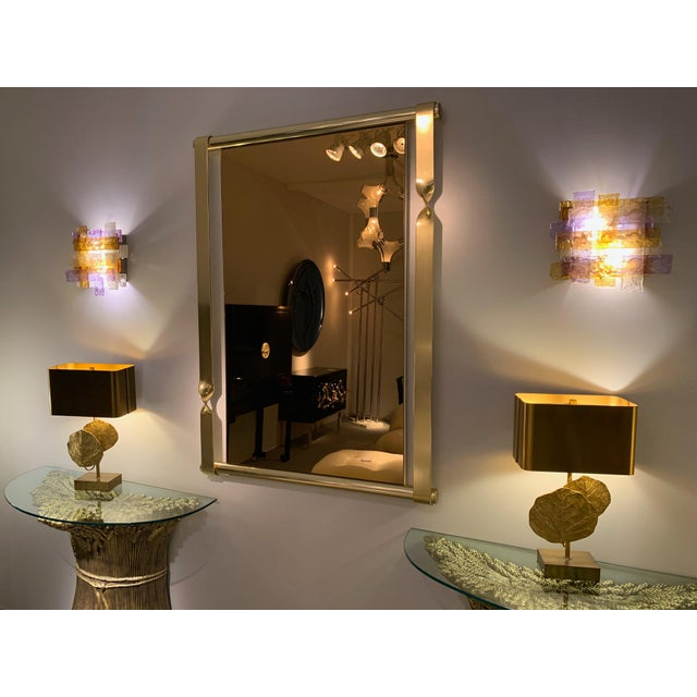 Purple Pair of Murano Glass Sconces by Venini. Italy, 1970s For Sale - Image 8 of 12