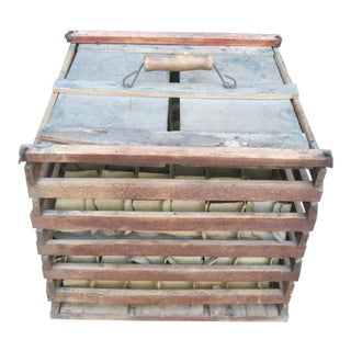 Antique Humpty Dumpty Egg Crate