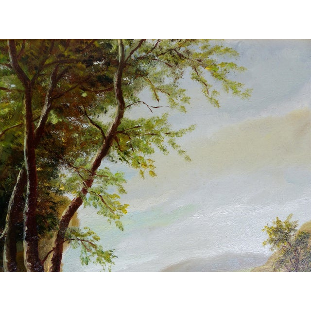 Landscape Oil Painting on Board - Image 6 of 10