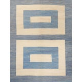 Image of Schumacher Kilim Area Rug in Hand-Woven Wool, Patterson Flynn Martin For Sale