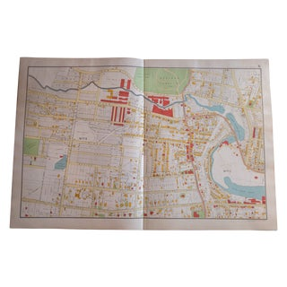 Antique Yonkers, New York Map