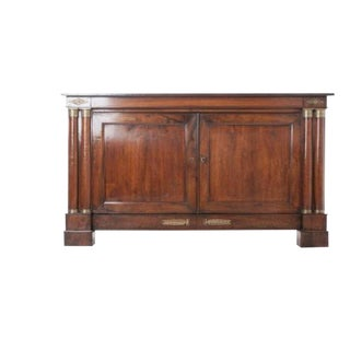 French 19th Century Walnut Empire Buffet