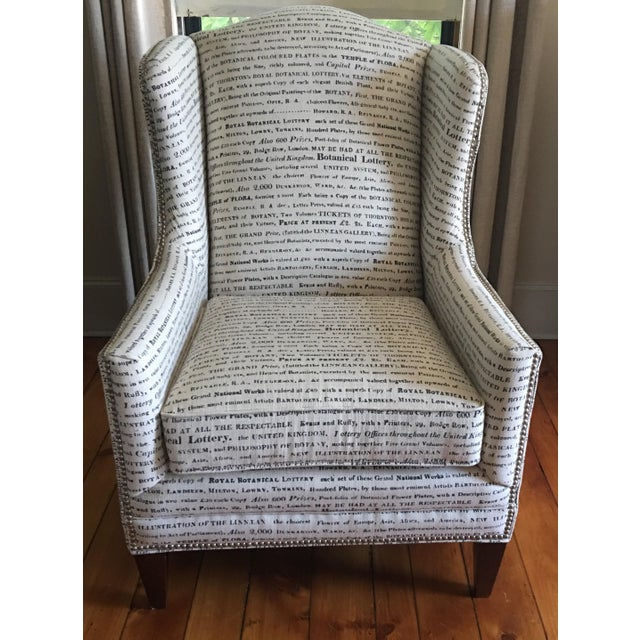 French Laundry Upholstered Chair - Image 2 of 7