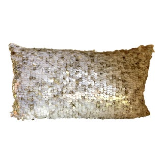 West Elm Decorative Throw Pillow Cover For Sale