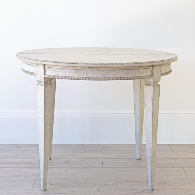 Märta Gustavian Extension Dining Table For Sale - Image 6 of 11
