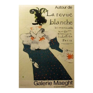 1970s Original Toulouse-Lautrec Exhibition Poster - Galerie Maeght