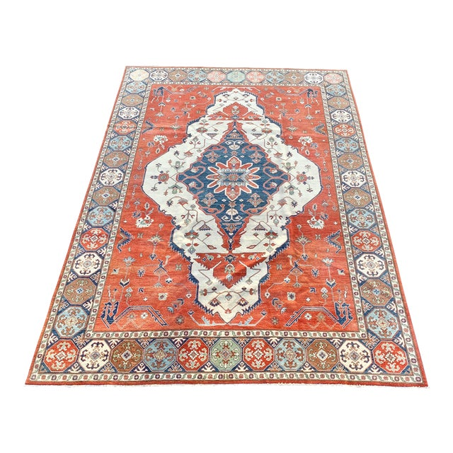1990s Serapi Large Area Rug-10′ × 13′9″ For Sale